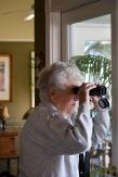 Mar 18 Mom looking at owlets 2